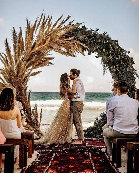 como organizar una boda civil  en la naturaleza